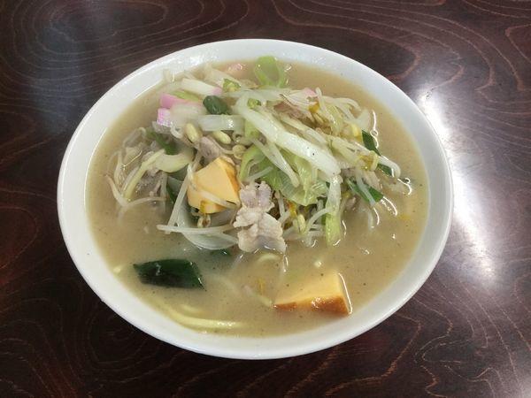 「豚肉ちゃんぽん(¥700)」@若柳食堂の写真