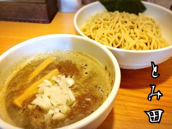 「煮干つけ麺¥800」@煮干そば とみ田の写真