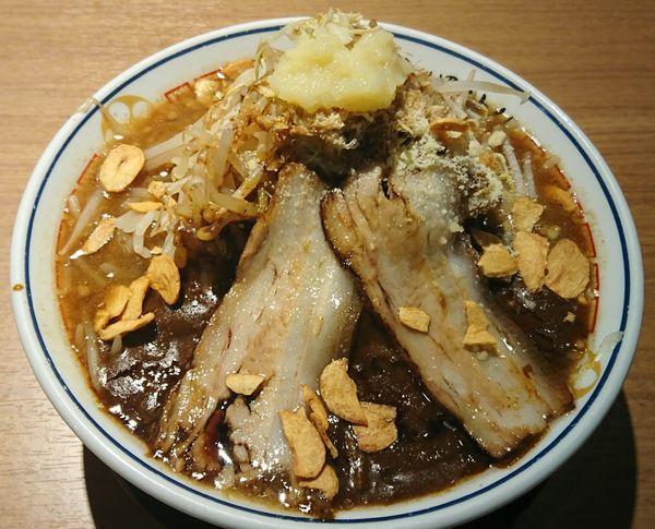「爆濃金沢カレー麺 ¥1200」@金澤濃厚豚骨ラーメン 神仙の写真