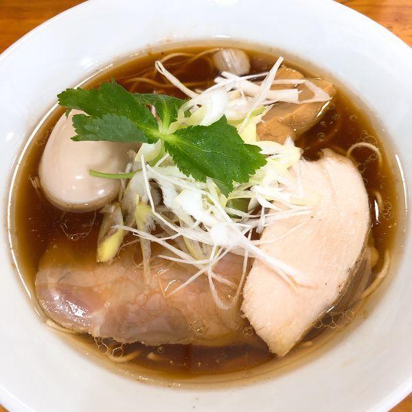 「味玉地鶏そば (醤油) ¥800」@麺屋 むじゃきの写真