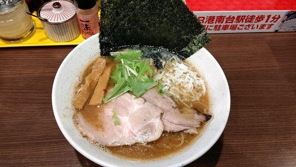 「鶏煮干し中華そば」@麺や かがのの写真
