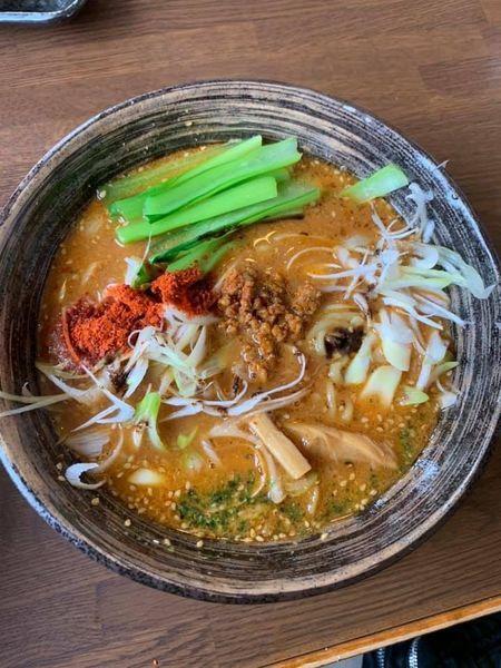 「担々麺 1辛」@やまがたらーめん きたもと屋の写真