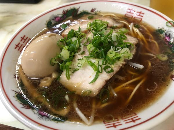 「中華そば」@御食事処 だるまの写真