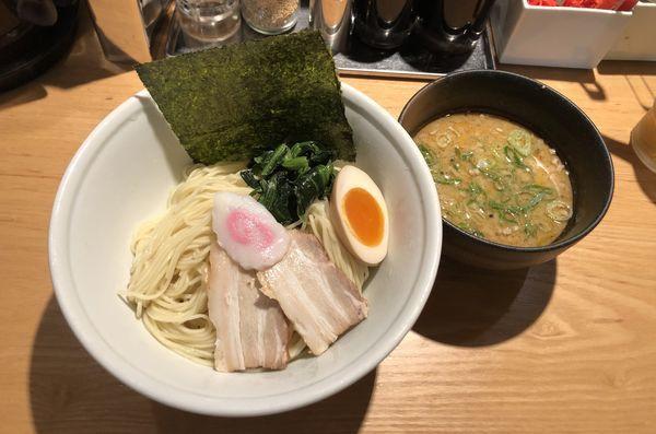「節とんこつの醤油つけ麺」@TOKYO豚骨BASE MADE by 博多一風堂 池袋店の写真