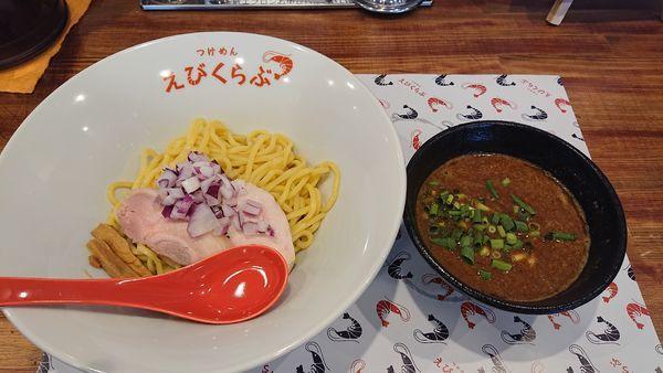 「令和元年・8・1海老つけ麺(850円)」@えびくらぶの写真