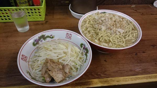「麺増し大・ネギ(ヤサイアブラカラメ)¥900」@ラーメン二郎 品川店の写真