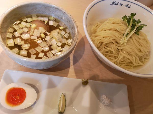 「つけ麺(白)」@中華蕎麦 あお木の写真