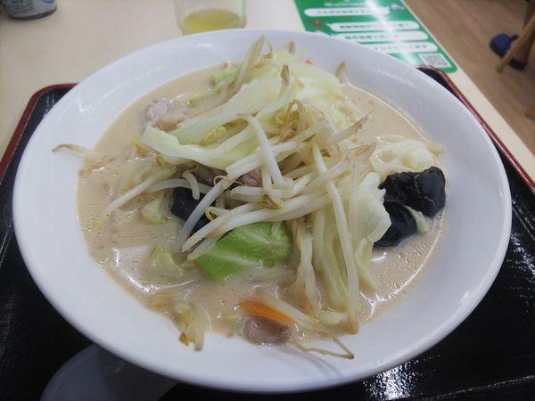 「タンメン650円」@にんたまラーメン 神栖店の写真