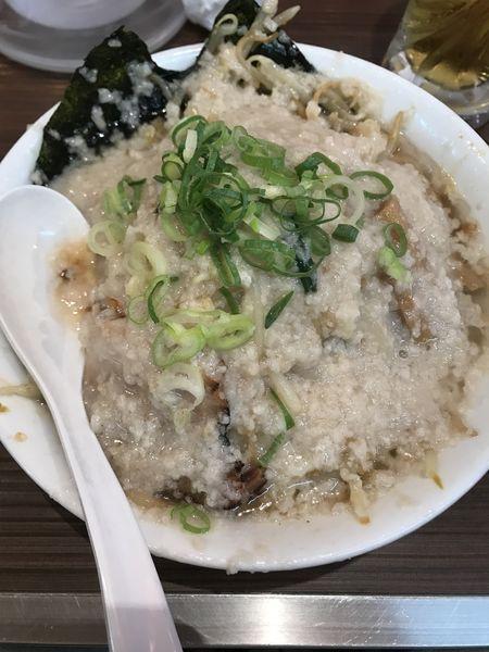 「野菜たっぷりジョニー、鬼脂」@環七ラーメン SEABURAジョニーの写真