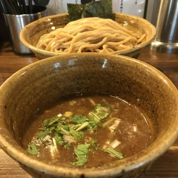 「ベジポタつけ麺(¥800)+大盛り(¥0)」@ベジポタつけ麺 えん寺の写真