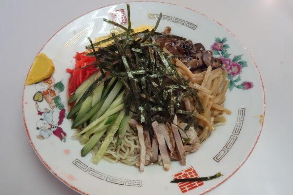 「冷風麺」@マルカンビル大食堂の写真