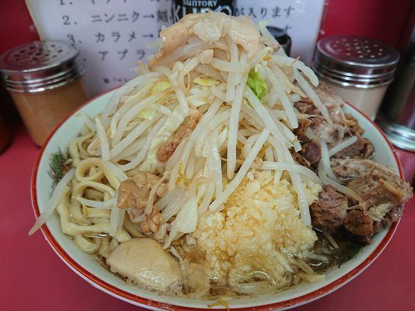「豚入りラーメン 大」@ラーメン二郎 小岩店の写真