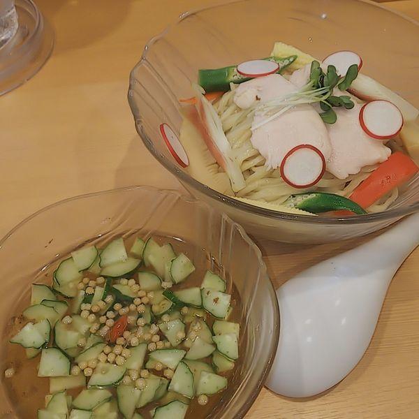 「【期間限定】冷やしつけそば」@中華蕎麦 はるの写真