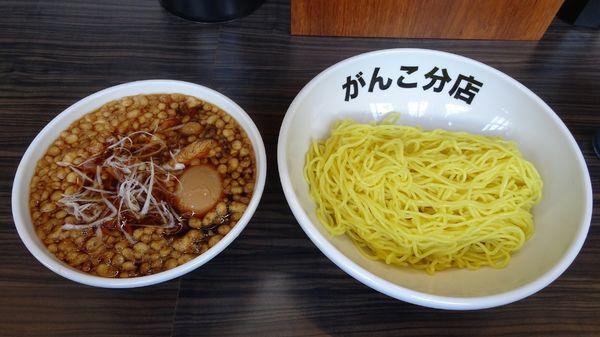 「ボンバーつけ麺(1,000円)+味玉(100円)」@元祖一条流がんこ 総本家分店の写真