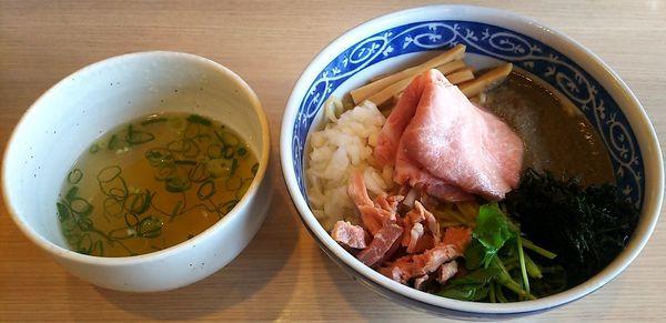 「煮干しあぶらそば」@寿製麺よしかわ 坂戸店の写真