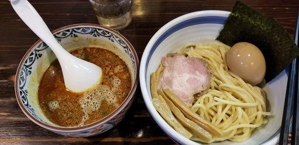 「カレーつけめん 味玉トッピング」@とうかんやの写真