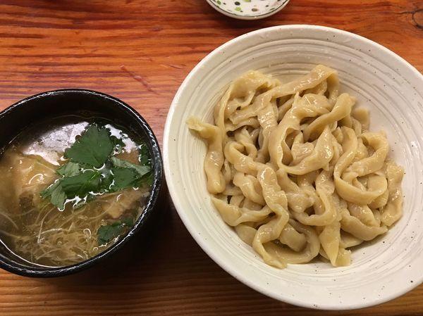 「つけめん(ワンタン)」@純手打ち 麺と未来の写真