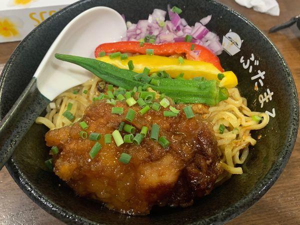 「冷やし麺」@らーめんぶたまろの写真