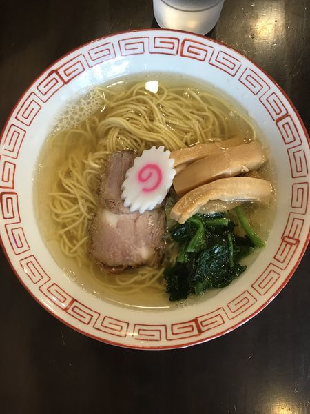 「中華そば(塩)」@自家製麺 KANARIの写真