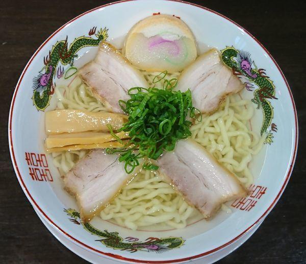 「中華そば 塩 ¥680」@自家製麺中華そば 番家の写真
