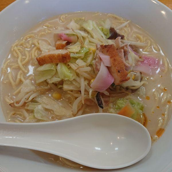 「長崎ちゃんぽん麺2倍637円」@長崎ちゃんぽん リンガーハット 甲府向町店の写真