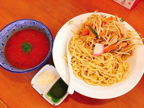 「冷やしトマトもりタンメン」@フタツメ 伊勢崎店の写真