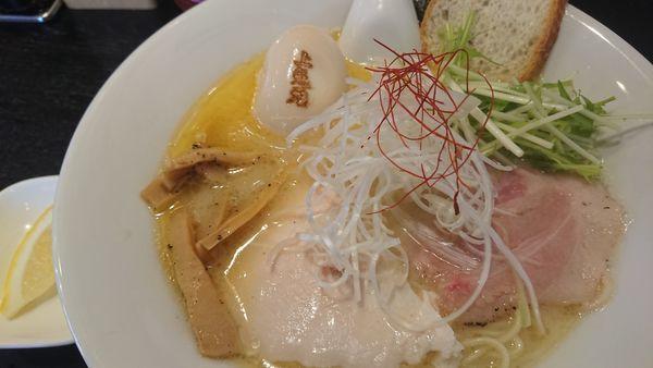 「濃厚鶏白湯(塩)」@上気元 いただきの写真