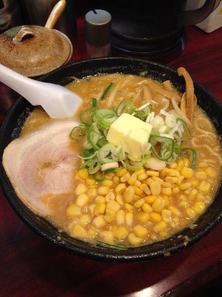 「味噌バターコーンらーめん 980円」@こってりらーめん なりたけ TOKYOの写真