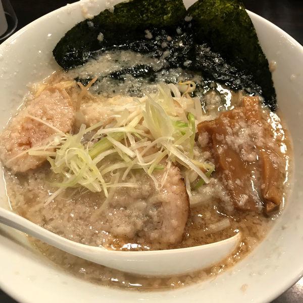 「環七ラーメン(ギタ)680円」@環七ラーメン 周麺の写真