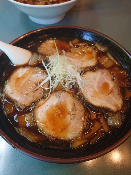 「アリランチャーシュー麺1200円」@八平の食堂の写真