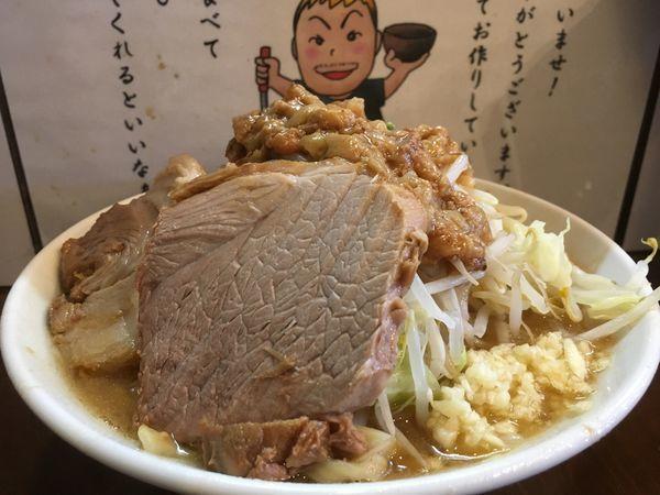 「小ラーメン(ニンニク アブラスクナメ)」@麺屋 歩夢の写真