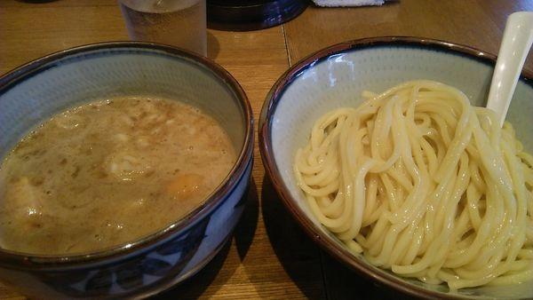 「煮干しつけ麺(並) 800円」@鼈の写真