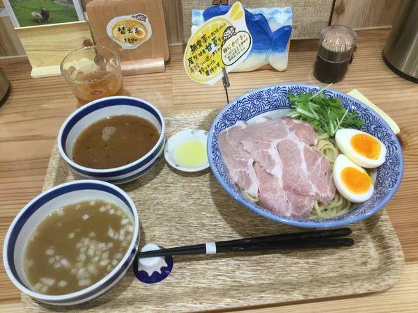 「特製尾鷲和風しおつけ麺(¥850)」@尾鷲しおラーメン モクモクしお学舎の写真