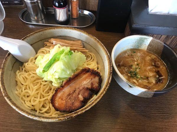 「暖つけ麺(二玉)」@三角屋 暖 -DAN-の写真