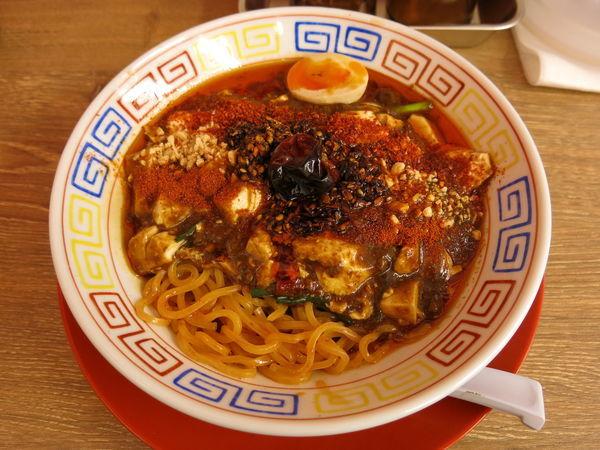 「麻辣麻婆麺:1000円」@スパイス食堂 サワキチ 東京築地店の写真
