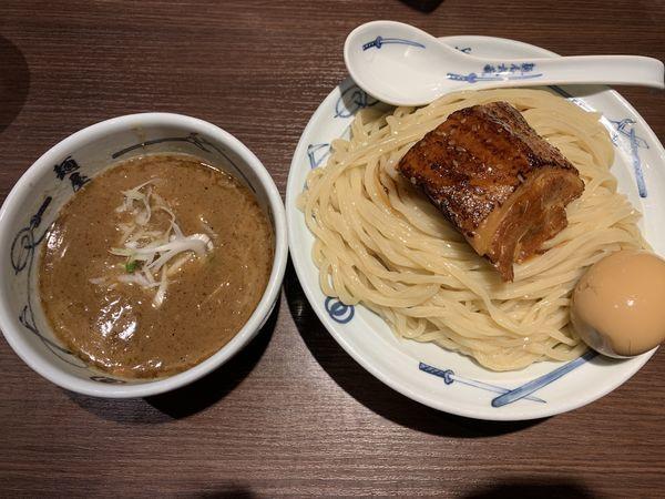 「濃厚武蔵つけ麺」@麺屋武蔵 浜松町店の写真