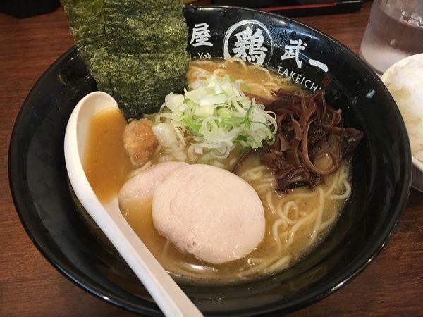 「濃厚鶏白湯そば 塩」@濃厚鶏そば 麺屋武一 北千住店の写真