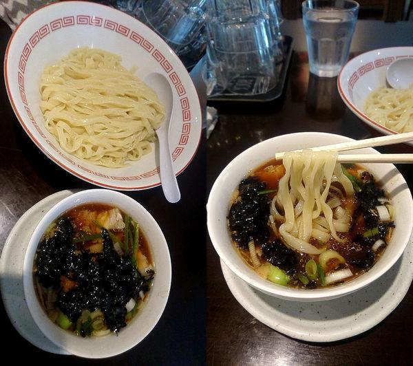 「限定『生姜醤油のつけめん(¥900)』」@新潟長岡らぁめん 安ざわ食堂の写真