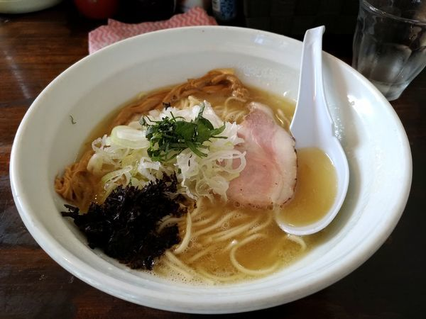「鶏濃麺 塩」@濃麺 海月の写真