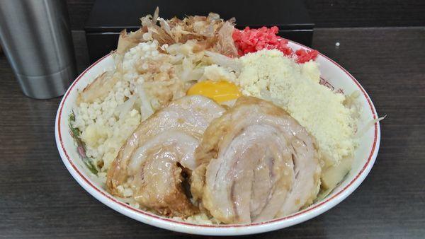 「小冷やし汁なし(麺少な目)」@ラーメン二郎 川越店の写真