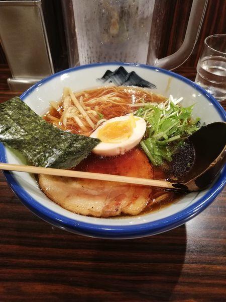 「醤油ラーメン」@AFURI 六本木店の写真