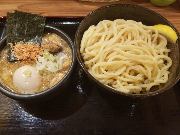 「特製濃厚魚介豚骨つけ麺」@つけ麺 大将の写真