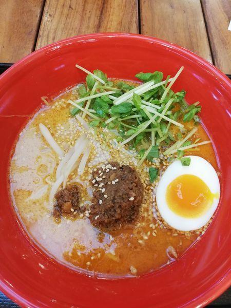 「担担麺」@RAMEN EXPRESS 博多一風堂 三井アウトレットモール入間店の写真