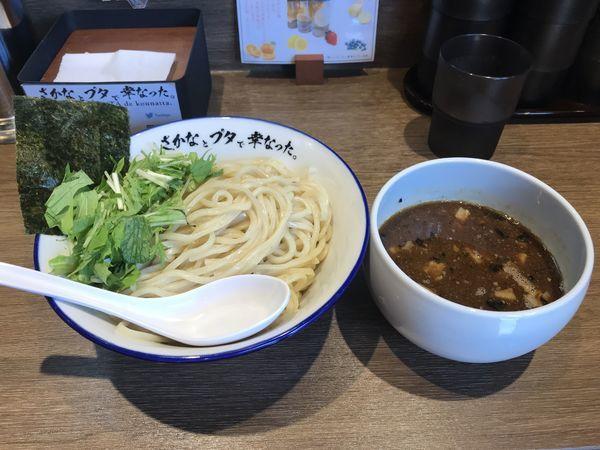 「魚豚つけ麺」@さかなとブタで幸なった。の写真
