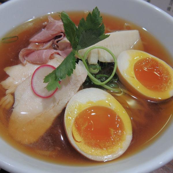 「贅沢魚介出汁の特製冷やしSoba 1,200円」@銀座 篝 本店の写真