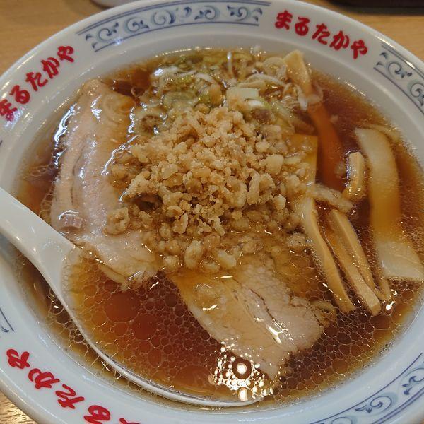 「中華そば700円」@まるたかや 魚津店の写真