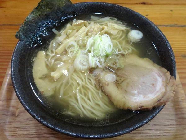 「しおそば 720円 ※細麺」@中華そば 北炎の写真