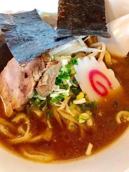 「和風醤油らー麺770円」@食楽 笑麺の写真
