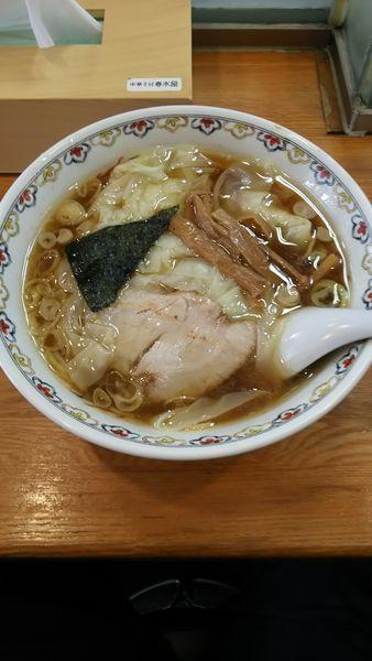 「わんたん麺」@春木屋 荻窪本店の写真
