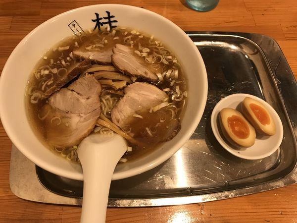 「チャーシューメン」@煮干しだし醤油ラーメン 桂の写真